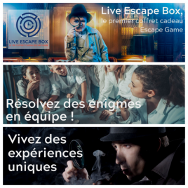 Live Escape Box, Paris