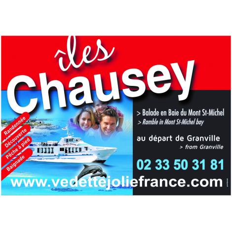 Vedettes des îles Chausey (Billet Aller/Retour), Granville