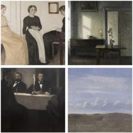 Exposition : Hammershøi, le maître de la peinture danoise, Paris
