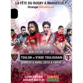 Rc Toulon / Stade Toulousain