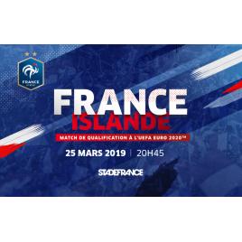 France / Islande - Qualification Euro 2020
