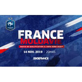 France / Moldavie - Qualification Euro 2020