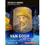 Exposition Van Gogh, la nuit étoilée, Paris