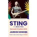Festival Jardin Sonore 2019 : Sting