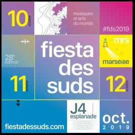 Festival Fiesta des Suds 2018 3 : Hyphen Hyphen, Fakear, General Elektriks…, Marseille, le 13/10/2018