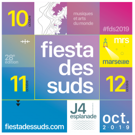 Festival Fiesta des Suds 2019, Marseille, le 13/10/2018