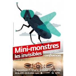 Exposition  Mini-monstres, les invisibles, Lyon