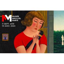 Exposition  Du Douanier Rousseau à Séraphine Les grands maîtres naïfs, Paris