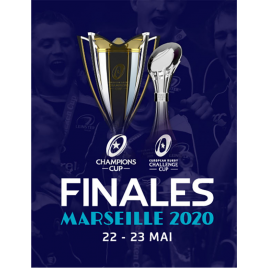 Pack Weekend : European Rugby Champions Cup + Challenge Cup