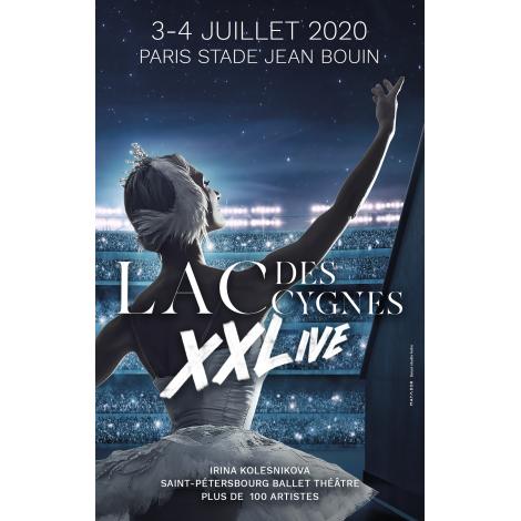 Lac des cygnes XXLive, Paris