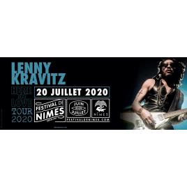 Festival de Nîmes 2020 : Lenny Kravitz