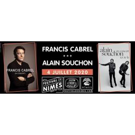 Festival de Nîmes 2020 : Francis Cabrel / Alain Souchon