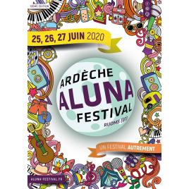 Festival Aluna 2020 : pass 1 jour , Ruoms, le 27/06/2020