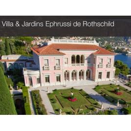 VILLA ET JARDINS EPHRUSSI DE ROTHSCHILD A SAINT JEAN CAP FERRAT CATEGORIE ADULTE