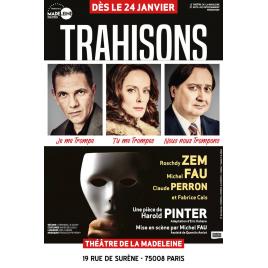 Trahisons, Paris, le 04/04/2020