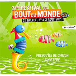Festival du Bout du monde 2019  (5) pass dimanche, Crozon, le 04/08/2019
