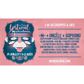 Festival Musicalarue 2019, Luxey, le 17/08/2019