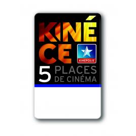 Cinémas Kinépolis (Ebillet 5 places), Kinepolis