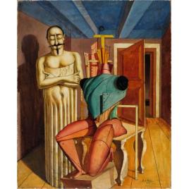 Giorgio de Chirico et la peinture métaphysique, Paris