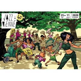 Festival Jazz à Vienne 2019 : Thomas Dutronc & Les Esprits Manouches, Vienne, le 13/07/2019