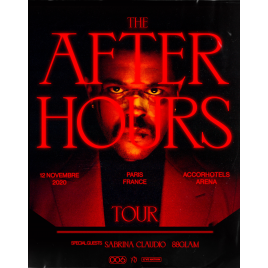 The Weeknd  - The After Hours Tour , Paris