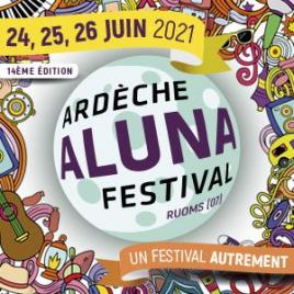 Festival Aluna 2021 : pass samedi, Ruoms, le 26/06/2021