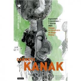 Exposition Carnets Kanak, Paris