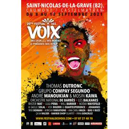 Festival des Voix des Lieux des Mondes 2021 :, le 10/09/2021
