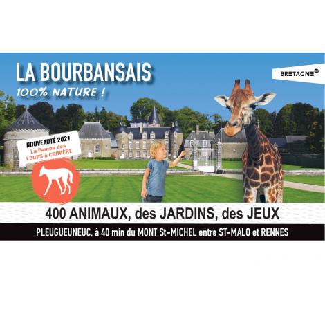 Zoo + Château de Bourbansais