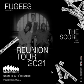 Fugees - Reunion Tour 2021, Nanterre, le 04/12/2021