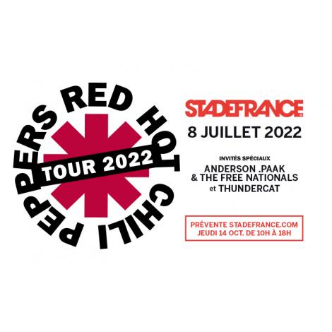 Red Hot Chili Peppers - Tour 2022, Saint-Denis La Plaine