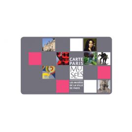 Carte Paris Musées