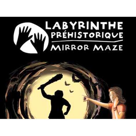 Labyrinthe Prehistorique Mirror Maze, Le Bugue / Vezere