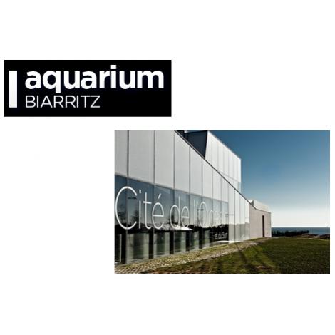 Aquarium de Biarritz + cité de l'océan ( billet jumelé), Biarritz