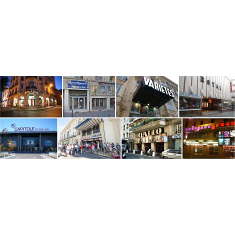 Chèques Cinémas CE (Le Prado à Marseille, Avignon,  ...), Cinémas Le Prado, Le Chambord, Multiplexe Le Pontet, ...