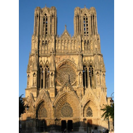 Tours de la cathédrale de Reims