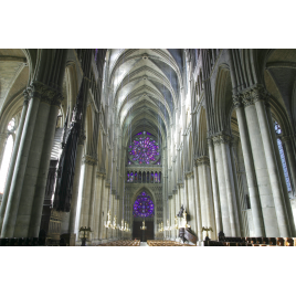 Tours de la cathédrale de Reims