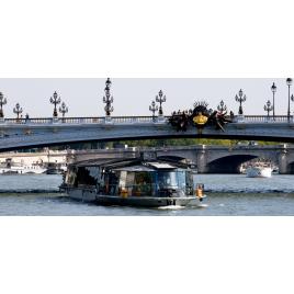 Croisière Déjeuner (12h45) Service Premier Bateaux Parisiens
