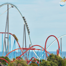 Port Aventura World  : billet 3 Jours / 3 Parcs  Ferrari Land + Port Aventura Park + Caribe Park