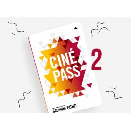 Cinémas Pathé Gaumont : le CINEPASS DUO abonnement 1 an