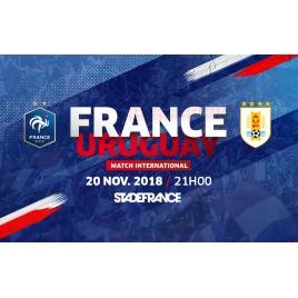France - Uruguay, Saint-Denis La Plaine, le 20/11/2018